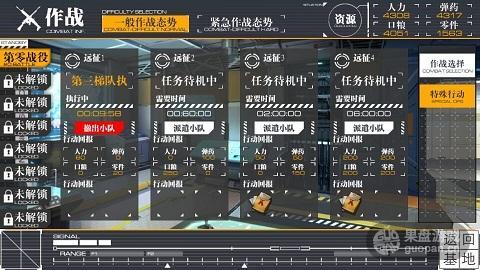 枪娘的编制为5人小队,目前游戏至多开放4支可部署梯队.